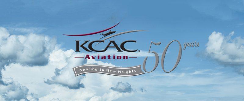 KCAC 50th logo hero 2