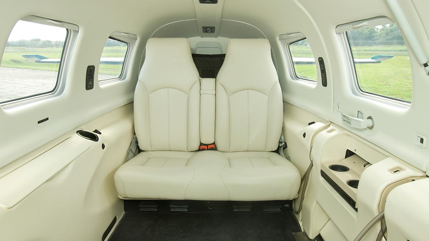 Piper M350 Interior