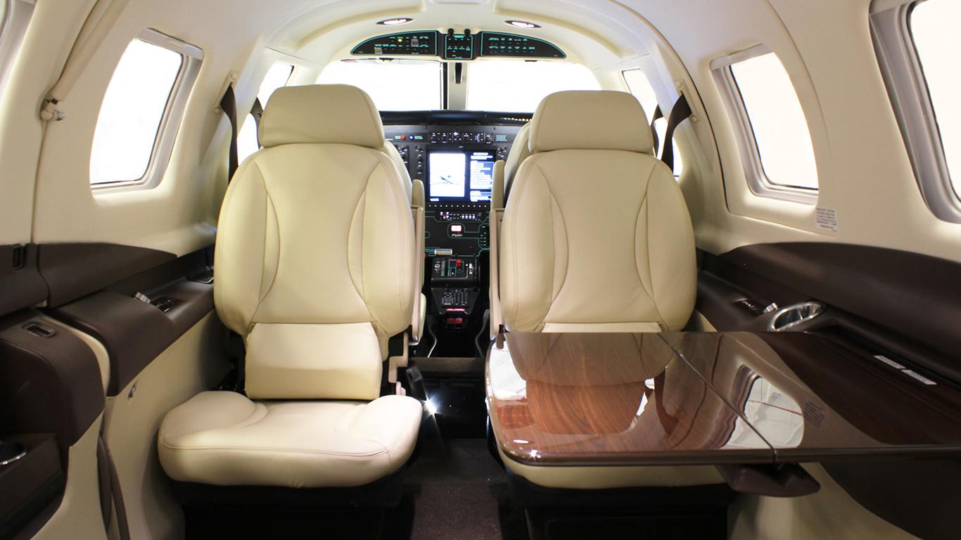 Piper M500 Interior