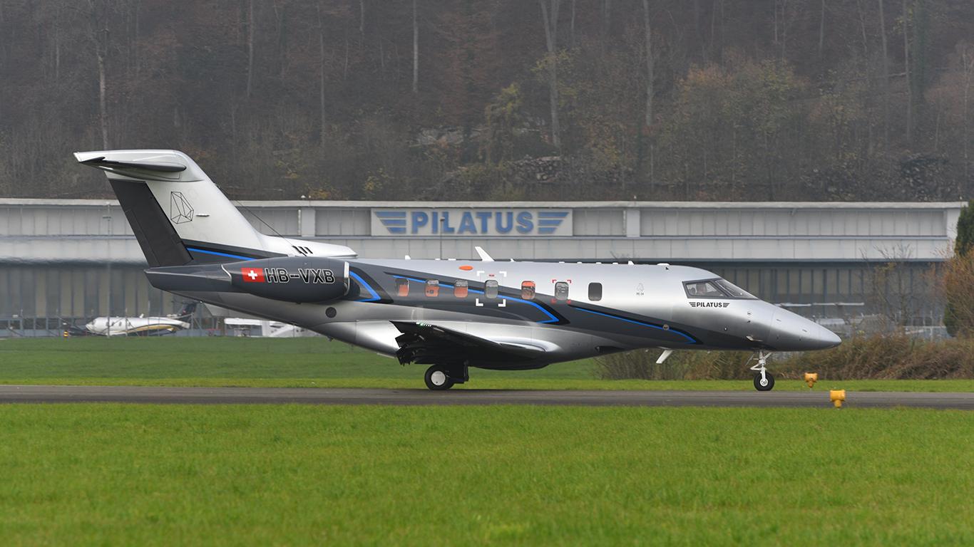 Pilatus PC-24 P02 factory