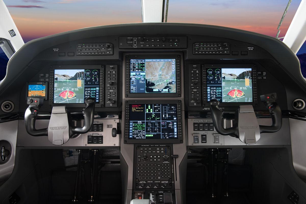 Pilatus PC-12 NG avionics