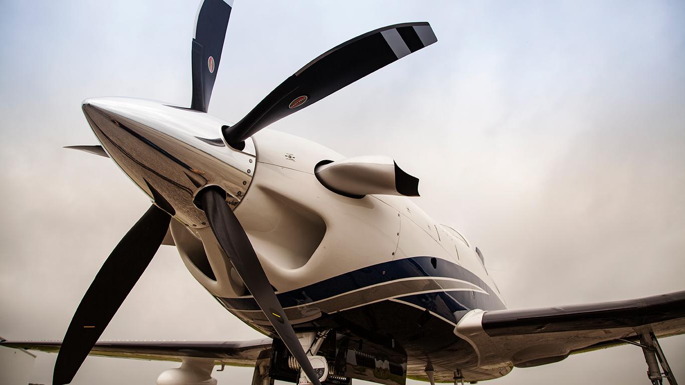 5 blade prop - Piper M500