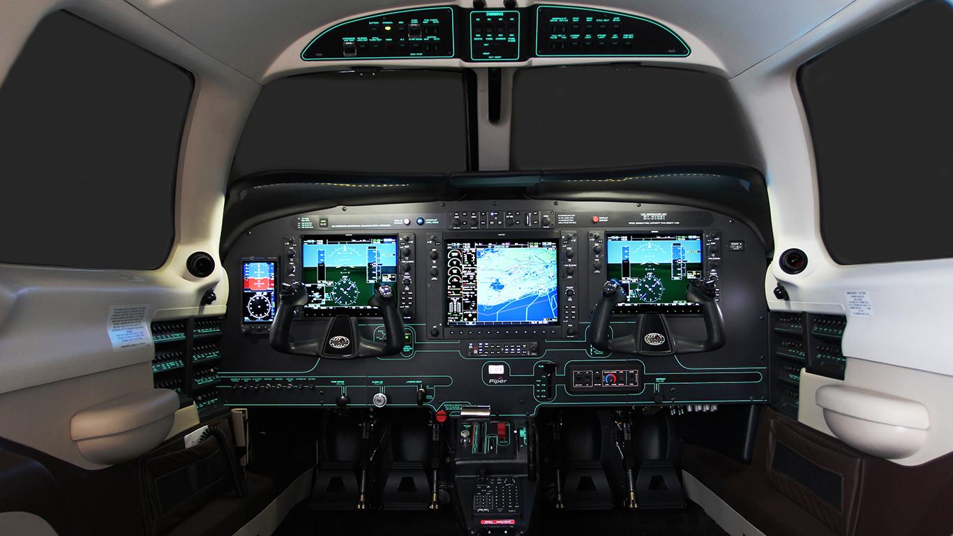 Piper M500 panel