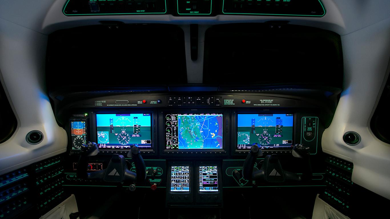 Piper M600 G3000 panel