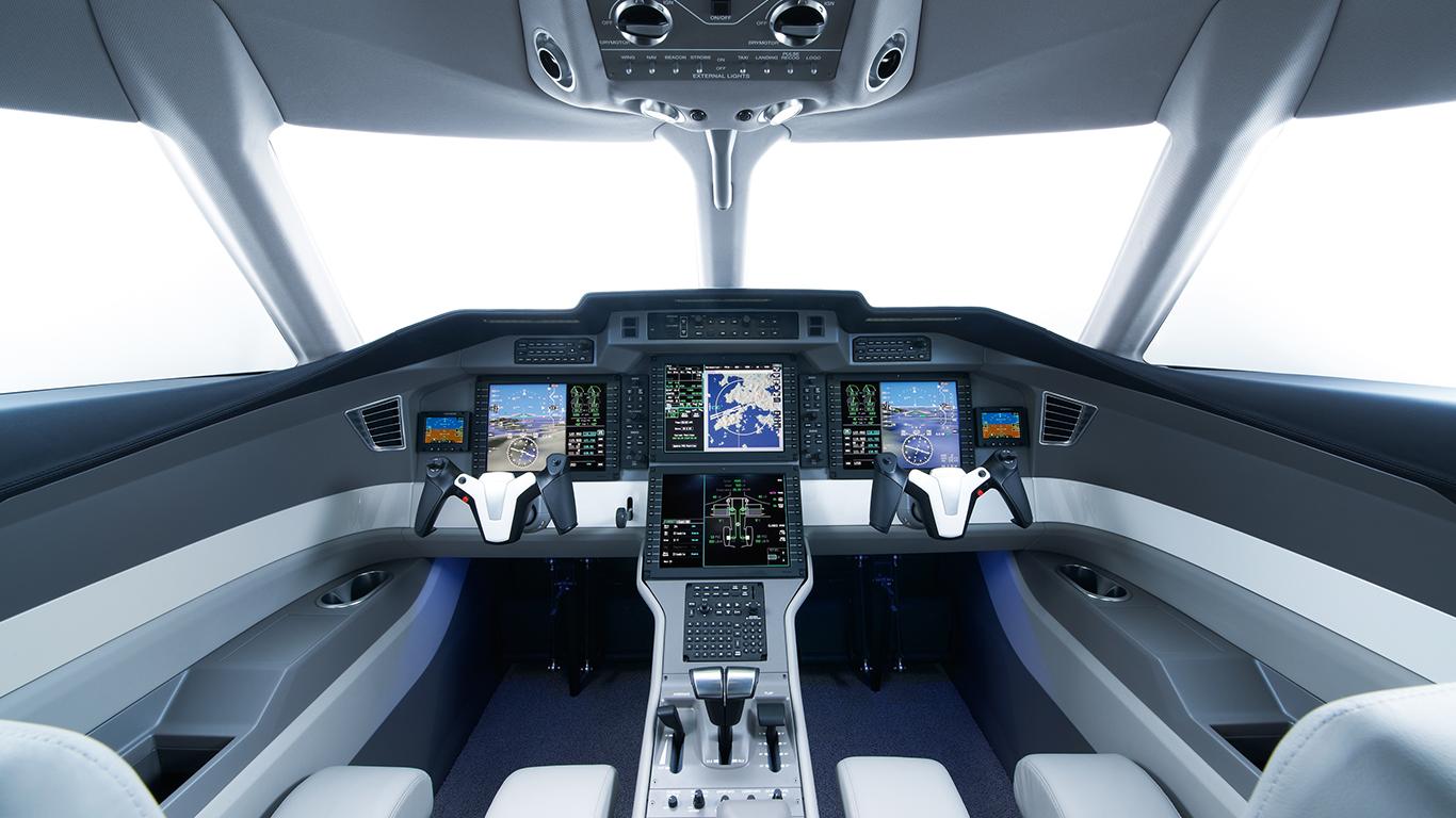 Pilatus PC-24 cockpit