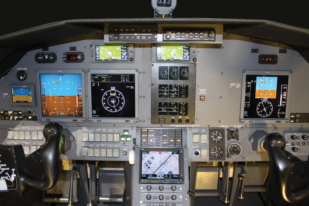 Pilatus legacy avionics