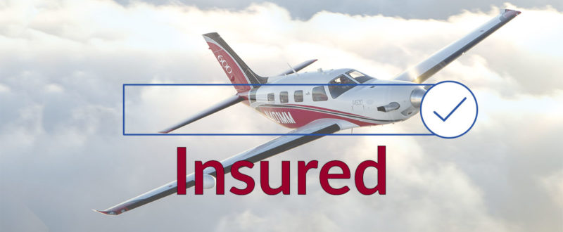 Insured aircraft image