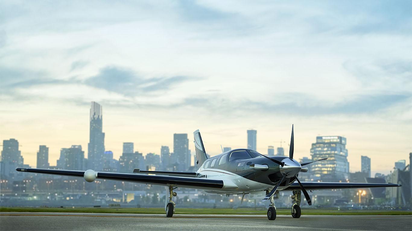 M600 business airplane