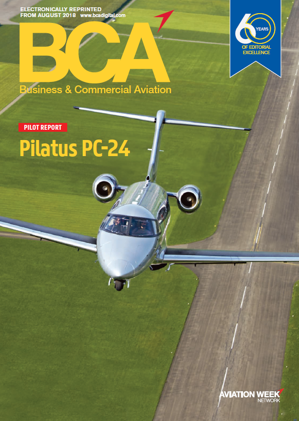 PC-24 Flight Review